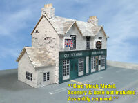 N Scale Building - British Pub & Inn (Cover Stock PRE-CUT Paper Kit)