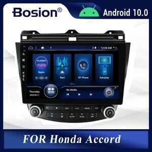 "10"" Android 10 For Honda Accord Head unit GPS Navi Car Radio Stereo DSP Carplay"