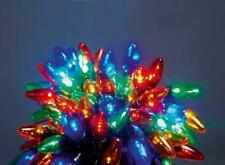 Set 80 Big Bulb Multi-Coloured LED Chaser Christmas Fairy Lights Outdoor