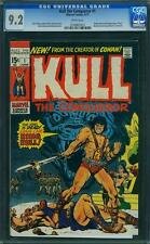 Kull (Robert E Howard) # 1 us Marvel 1971 Severin tipo cgc 9.2 nm White