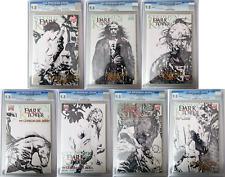 Dark Tower: The Gunslinger Born #1,2,3,4,5,6, AND 7 Sketch Variant Set CGC 9.8!!