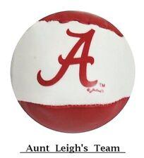 "University of Alabama Crimson Tide Hacky Sack Ball Crimson & White Bama ""A"" Logo"
