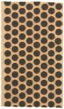 "1000 3/8"" Brown Felt Dots Surface Protector Pad Trophy Cabinet Furniture Crafts"