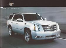 2011 11 Cadillac Escalade original sales brochure MINT