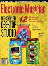 1999 Electronic Musician ALESIS Q20, AUDIX CX-111, ZOOM RHYTHMTRAK 234 Reviews