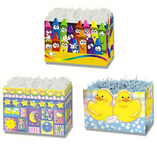 Boxco Themed Gift Basket Boxes Crayons, Sweet Dreams, Just Ducky -18 boxes New!