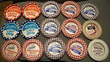 Dairy Milk Bottle Caps (unused)  Antique old vintage (LOT of 15)