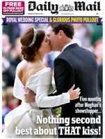 PRINCESS EUGENIE & JACK BROOKSBANK Wedding: UK Daily Mail Souvenir Issue