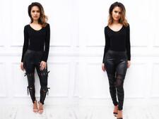 Polyamide Mid Rise Slim, Skinny Jeans for Women