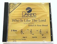 Daywind - Israel & New Breed - Who Is Like The Lord - accompaniment track cd