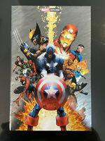 Civil War #1 FOIL La Mole 2020 Exclusive limited written in Sapnish