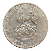 KM# 816a - One Shilling - George V - Great Britain 1925 (Fair)