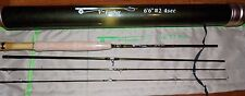 2WT 6.5FT 4Pieces  Fly Fishing Rod  & Carbon Rod Tube FREE 3 DAY DELIVERY