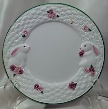 Avon 1994 Bunny Collection Dessert/Pie Plate 7 1/4�