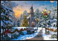 Christmas in October - Chart Counted Cross Stitch Pattern Needlework Xstitch DIY
