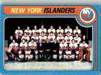 1979-80 O-Pee-Chee Islanders Team #253