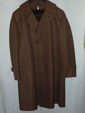 Julliard Men's Tan Vintage Over Coat