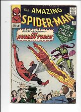 The Amazing Spider-Man #17 October 1964 2nd Green Goblin, Human Torch too