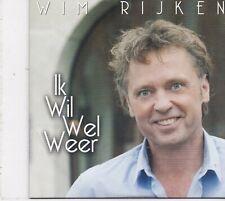 Wim Rijken-Ik Wil Wel Weer cd single