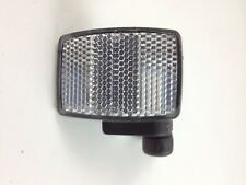 Adjustable Bicycle Reflector ~ Rectangle Silver