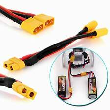 XT60 Plug Power Parallel Battery Connector Cable Dual Extension Y Splitter Wire