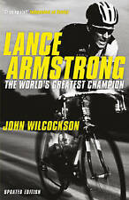 """VERY GOOD"" Wilcockson, John, Lance Armstrong: The World's Greatest Champion, Bo"