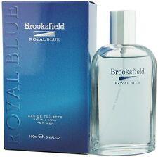 (499,95eur/100ml) 100ml BROOKSFIELD-ROYAL BLUE for Men-Eau de Toilette Nuovo