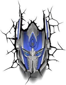 3DLightFX Transformers Optimus Prime 3D Deco Light