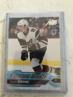 2016/17 DYLAN STROME UPPER DECK YOUNG GUNS ROOKIE CARD