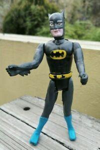 "VTG MEXICO SUPER POWERS BATMAN MEGO CLONE/BOOTLEG RUBBER ARMS & LEGS 7.5"" FIGURE"