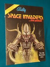 Space Invaders Pinball FLYER Comic Book Collectors Edition 1980 FREE SHIPPING