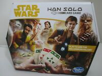 Star Wars Han Solo Card Game The Millennium Falcon Disney Hasbro - New Open Box