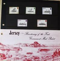 "Jersey Stamps ""Royal Mail Packet Ships Bi-Centenary"" MNH Presentation Pack 1978"