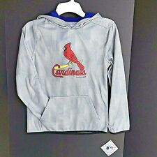 St. Louis Cardinals Hooded Sweatshirt Youth Size L (12/14) NEW With Tags -a