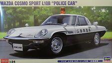 "HASEGAWA® 20258 Mazda Cosmo Sport L10B ""Police Car"" in 1:24 LIMITED!"