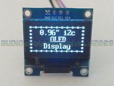 """OLED 0.96"""" White 128X64 I2C IIC Display Module U8GLIB ESP8266 Arduino UK Tested"""