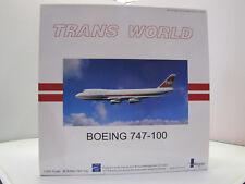 IF741010 - Inflight Boeing 747-100 - TWA Trans World - 1:200