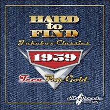 1959: Teen Pop Gold - Hard To Find Jukebox Classics (2010, CD NEU)