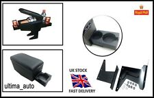 Armrest Centre Console for AUDI 80 100 200 A2 A3 Black w cup holders