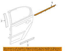 Pontiac GM OEM 05-10 G6 Rear-Window Sweep Belt Felt Molding Left 15900050