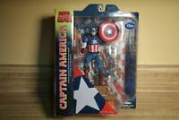 Marvel Select Classic Captain America 7in Action Figure Diamond Select Toys