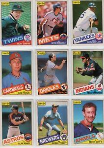 1985 O-Pee-Chee Baseball Team Sets **Pick Your Team**