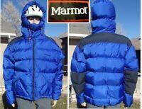 MINT! vintage MARMOT parbat down parka expedition 8000 meter puffy jacket mens L