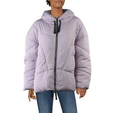 Free People Hailey Women's Quilted Drawstring Hooded Outerwear Puffer Jacket