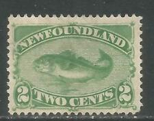 1910 Inland Revenue Perf12 Newfoundland Revenue #nfr22 $20 Yellow Brown Used