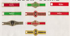 Ensemble Bagues de Cigare isolées BN78533 Weber