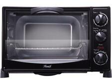 Rosewill RHTO-13001 6-Slice Black Toaster Oven Broiler with Drip Pan, Capacity 0