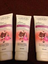 3 x AVON NATURALS colore umidità trattamento maschera 125 LM ciascuna