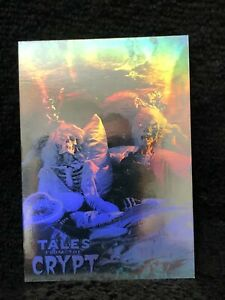 TALES FROM THE CRYPT 1993 CARDZ HOLOGRAM INSERT CARD FULL CHASE SET