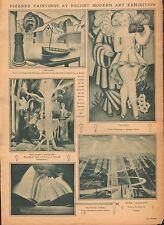 MODERN ART EXHIBITION OF BIZARRE PAINTINGS - 1926